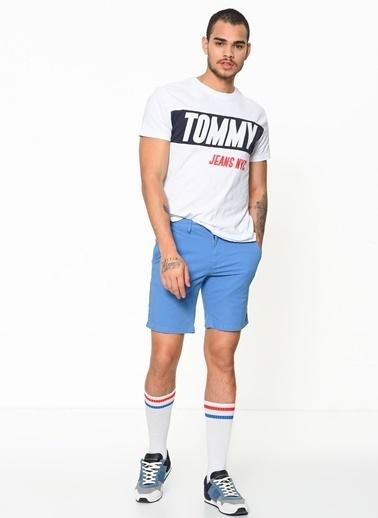 Tommy Hilfiger Şort Mavi